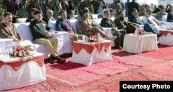 کوئٹہ میں ہتھیار ڈالنے کے موقع پر ہونے والی تقریب