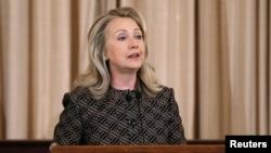 Menteri Luar Negeri AS, Hillary Rodham Clinton (Foto: dok).