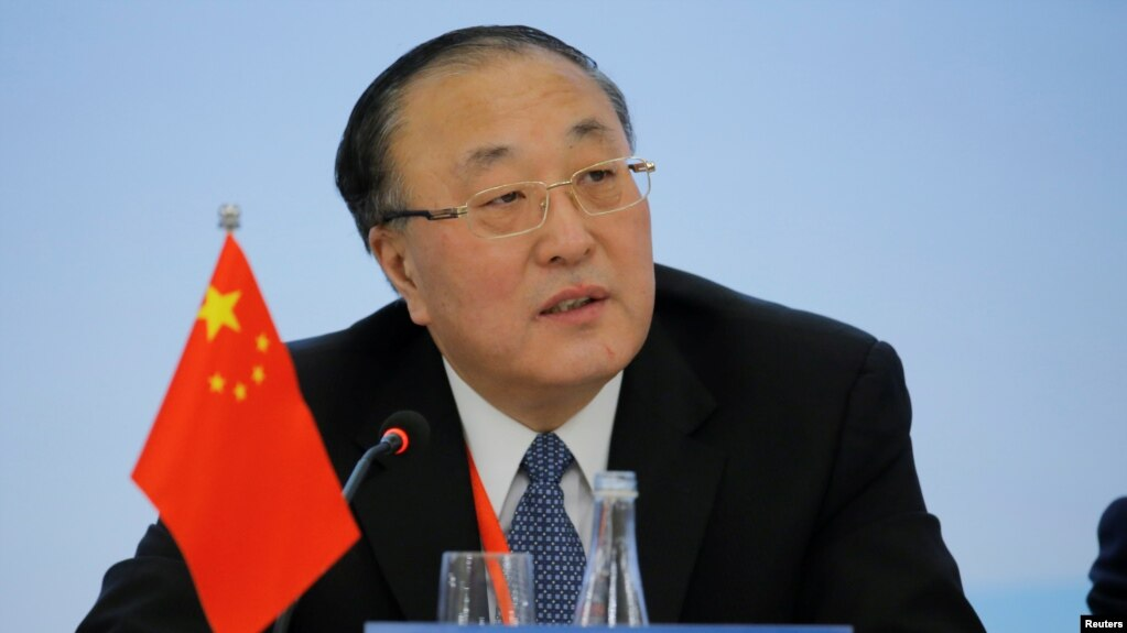 Ông Trương từng làm trợ lí bộ trưởng ngoại giao tại Bắc Kinh trước khi bắt đầu vai trò đại sứ LHQ trong tuần này.