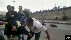 敘利亞德拉市據報有槍聲