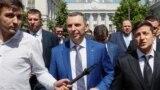Фото: президент України Володимир Зеленський та Сергій Шефір, 2019 рік