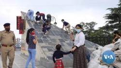 India Sounds Alarm Over 'Revenge Travel' as Tourists Cram Holiday Spots