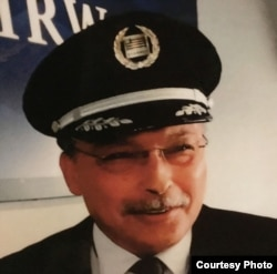 Airline Captain Clyde Romero