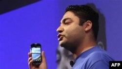 Вице-президент Google по платежным системам демонстрирует как работат Google Wallet