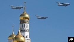 День Перемоги у Росії, Франції, Ізраїлі. ФОТО