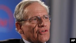 Former Washington Post reporter Bob Woodward speaks during an event held by The Washington Post to mark the 40th anniversary of Watergate, June 11, 2012 at the Watergate office building in Washington.