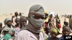 Un garçon dans un camp dans le village de Kidjendi près de Diffa, Niger, 19 juin 2016.