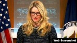 Միացյալ Նահանգների արտգործնախարարության փոխխոսնակ Մարի Հարֆ, 24 հունվարի 2014 թ.