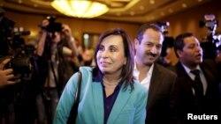 Sandra Torres se enfrentará a Jimmy Morales en la segunda ronda electoral del 25 de octubre por la presidencia de Guatemala.