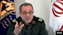 """İran İnqilab Keşikçiləri Korpusu (""""Sepah"""") komandanının müavini Məhəmmədəli Asudi"""