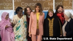 International Women of Courage awards 2018