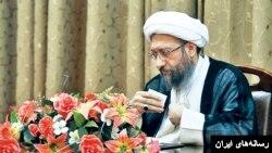 صادق لاریجانی رئیس قوه قضائیه ایران