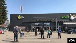 Social distancing in Banja Luka