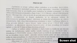 Obrazloženje presude (Ozren Perduv, Facebook)