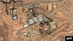 نمای هوایی تاسیسات نظامی پارچین در ایران