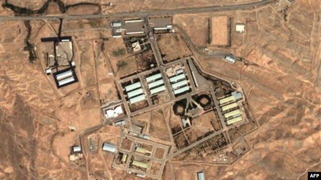 تصویر ماهوارهای از تاسیسات نظامی پارچین، که غرب نسبت به فعالیتهای آن تردید دارد.