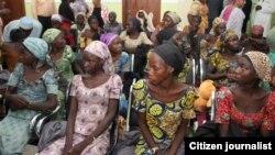 Wasu cikin 'yan matan Chibok da aka sako
