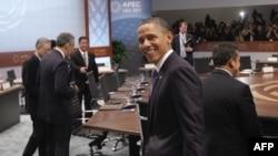 Президент Обама на саммите АТЭС