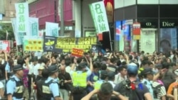 香港泛民多個政黨團體聲援銅鑼灣書店店長林榮基