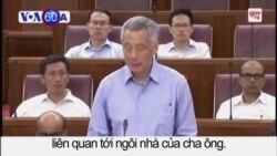 Thủ tướng Lý Hiển Long chất vấn trước QH về chuyện gia đình
