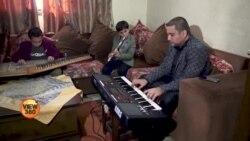 لاک ڈاؤن میں موسیقی کے رنگ بھرنے والا فلسطینی گھرانہ