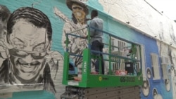 У Вашингтоні влада замовляє художникам мурали, щоб боротися з несанкціонованими графіті. Відео