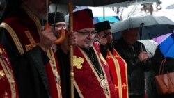 Біля меморіалу Голодомору у Вашингтоні пройшло урочисте вшанування загиблих внаслідок штучного голоду в Україні. Відео