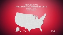 Republican Super Tuesday Primary Results