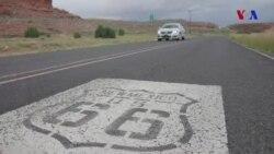 """Əfsanəvi """"Route 66"""" magistralı"""