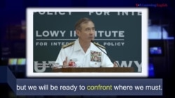 Học từ vựng qua bản tin ngắn: Confront (VOA)