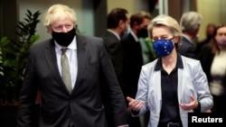 Avrupa Komisyonu Başkanı Ursula von der Leyen ve İngiltere Başbakanı Boris Johnson, 9 Aralık'ta Brüksel'de biraraya gelmişti.