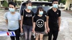 VN bắt giữ 8 người vượt sông biên giới từ Trung Quốc sang