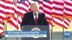 Donald Trump Ye Fanga Blah