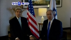 VOA60 America - Kerry Optimistic About Israeli-Palestinian Violence Solution