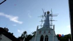 2015-08-05 美國之音視頻新聞:浙江天主教徒反對官方強拆十字架