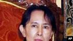 缅甸民主运动领袖昂山素季(资料照)