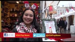 Hiasan Natal Meriah di Brooklyn, New York