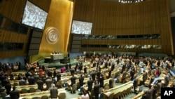 Aux Nations Unies, les appels devraient retentir en faveur d'un engagement plus marqué des pays membres dans la lutte contre le virus à Ebola (AP)