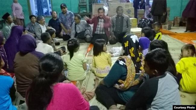 DPRD Daerah Istimewa Yogyakarta dorong pemerintah maksimalkan penanganan pengungsi. (VOA/Nurhadi Sucahyo)