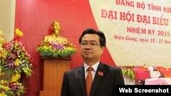 Ông Nguyễn Thanh Nghị. (web screenshot Thanhnien)