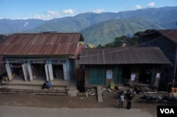 In the northern Chin state town of Tedim, voters elected the local Zomi Congress for Democracy party. (Photo: Simon Lewis for VOA)