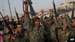 伊拉克部隊10月19日抵達伊拉克重鎮摩蘇爾外圍城市。