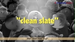 Học tiếng Anh qua phim ảnh: Clean Slate - Phim The Peanuts Movie (VOA)