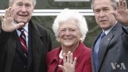 前第一夫人芭芭拉·布什周二去世