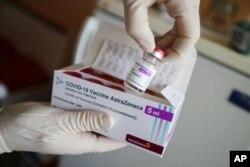 Paket vaksin COVID-19 AstraZeneca. (Foto: dok).