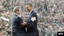 Барак Обама и премьер-министр Ирландии Энда Кенни