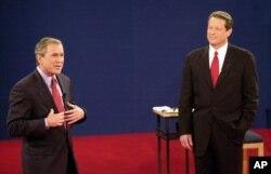 Jorj Bush va Al Gor