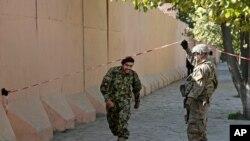 Los militares formaban parte de la delegación afgana que participa del ejercicio de entrenamiento para mejorar sus capacidades.