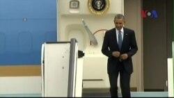 Tổng thống Obama đến Bỉ dự hội nghị G7