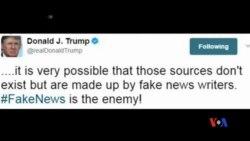 2017-05-29 美國之音視頻新聞: 川普回美後抨擊媒體造謠中傷 (粵語)